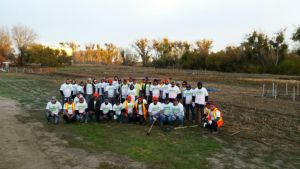 45 Employees From The Wonderful Orchard Company And 15 Promotores Members Participated